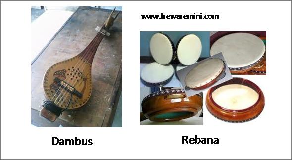 Alat musik tradisional Kepulauan Bangka Belitung [Babel]