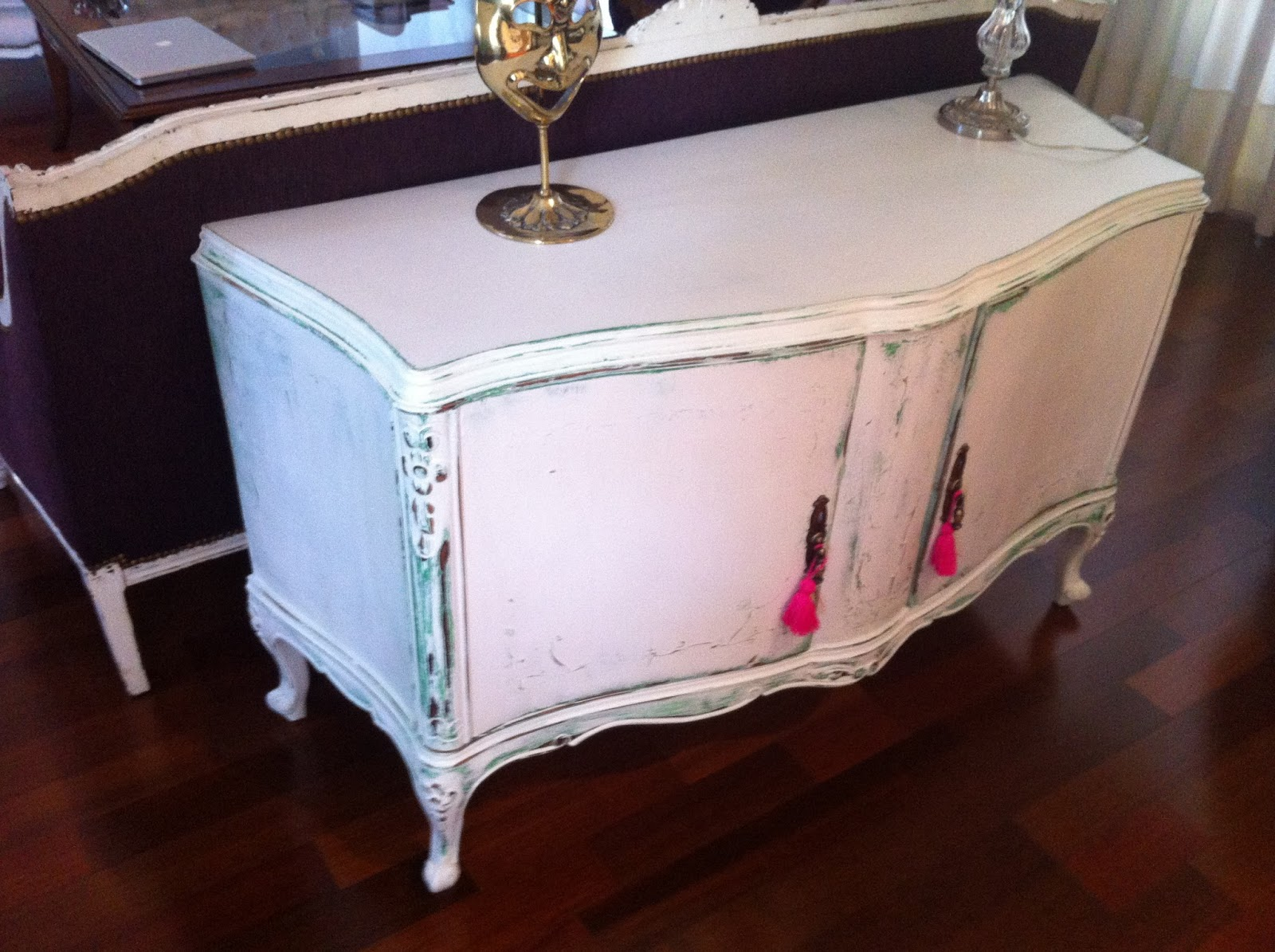 fotos de muebles decapados en blanco - Decapados y Patinas Facebook