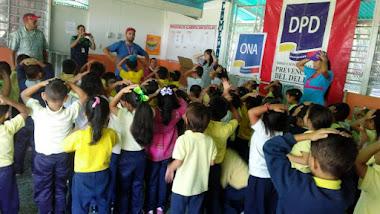 El Jardín de Infancia Cinco Águilas Blancas es abordado por el Frente Preventivo Mérida