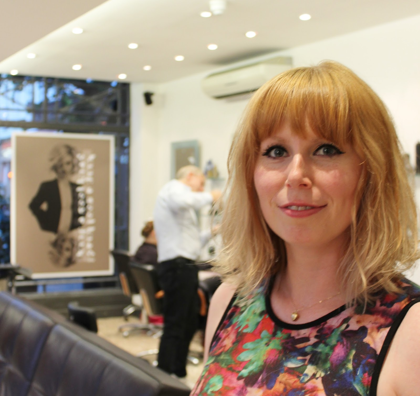 Andrew Jose London hair salon finished cut and colour