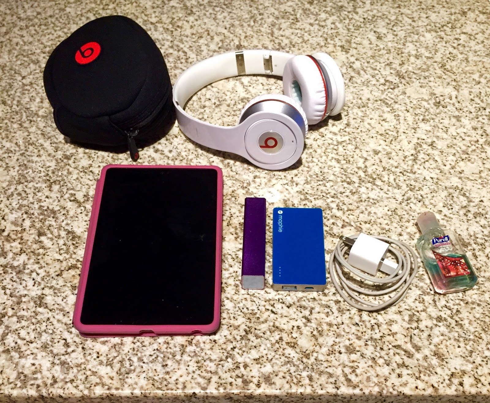 Essentials for business travel