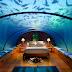 Underwater hotel room at Conrad Maldives Rangali Island Hotel