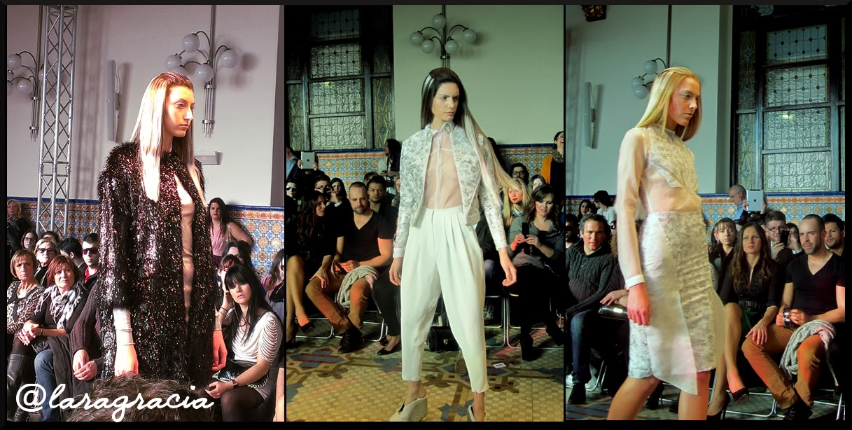 LARA GRACIA-Desfile Miguel Vizcaíno. Valencia Fashion Week