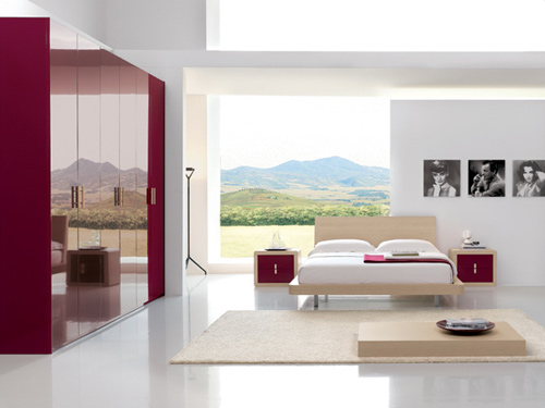 Chambre a coucher ultra moderne pr l vement for Chambre ultra moderne