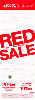 Reject Shop Red Sale 2013