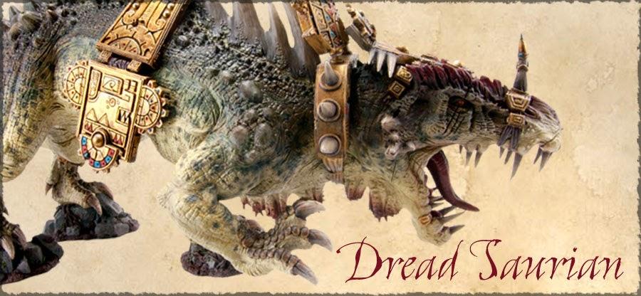 Dread Saurian de Warhammer Forge
