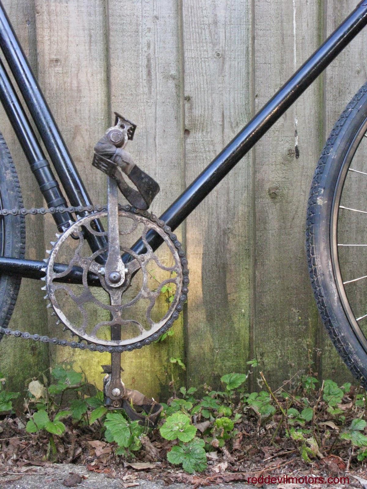 james racing bicycle twenties vintage