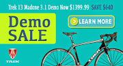 2013 Trek Madone 3.1 Demo Sale!