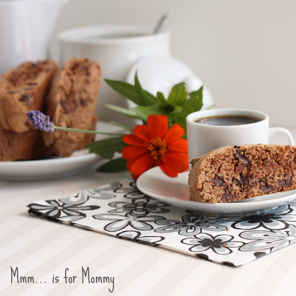 Cinnamon Chocolate Chip Biscotti for Food Network Canada's September ...