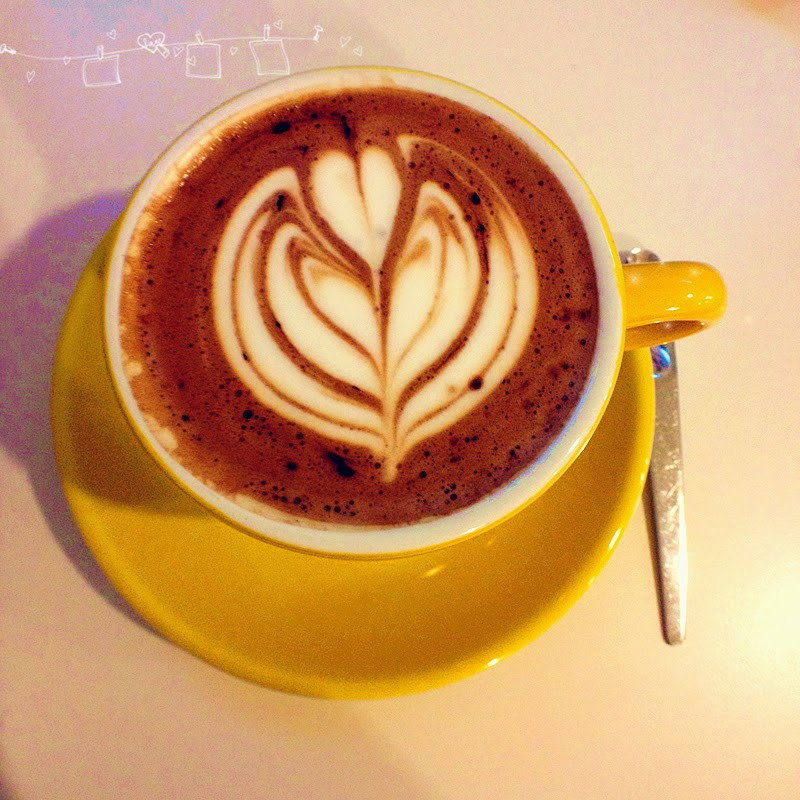 coffee stain at publika