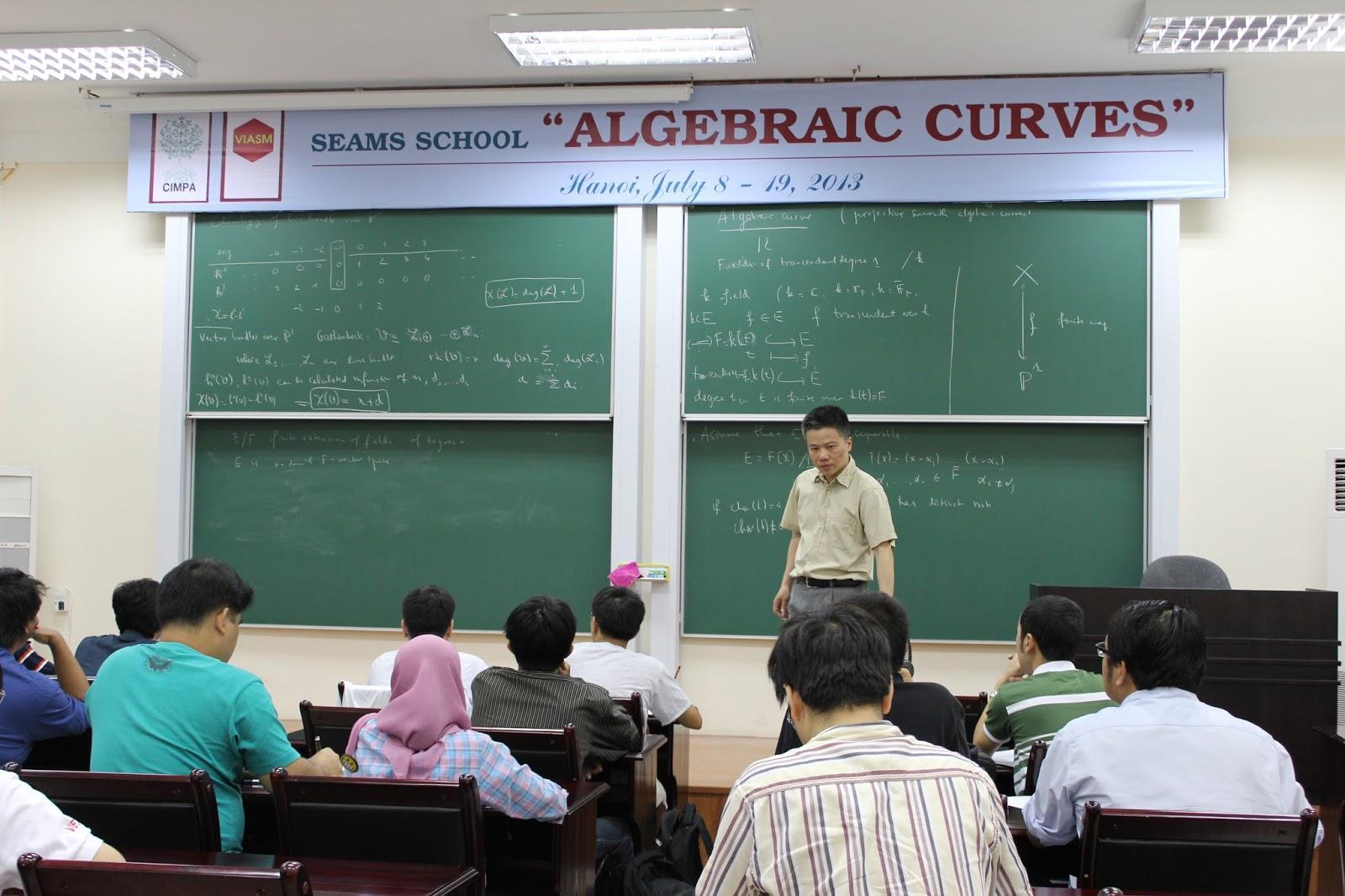 'Nhiều trường nước ngoài gửi học sinh sang Viện Toán của Việt Nam'