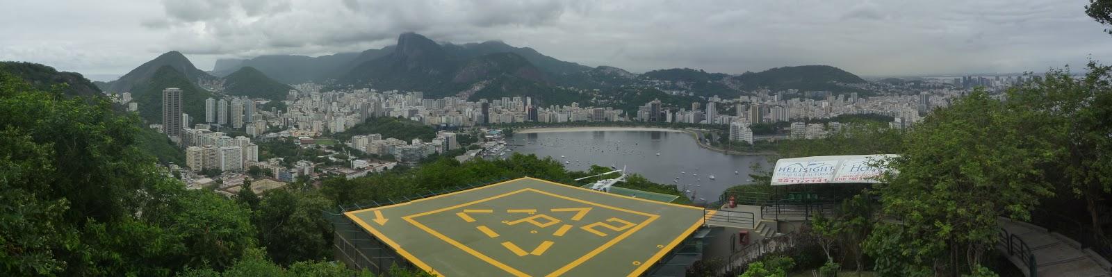 Panoramica desde la cima de Urca