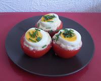 Tomaten-Eier-Kartoffel-Nest