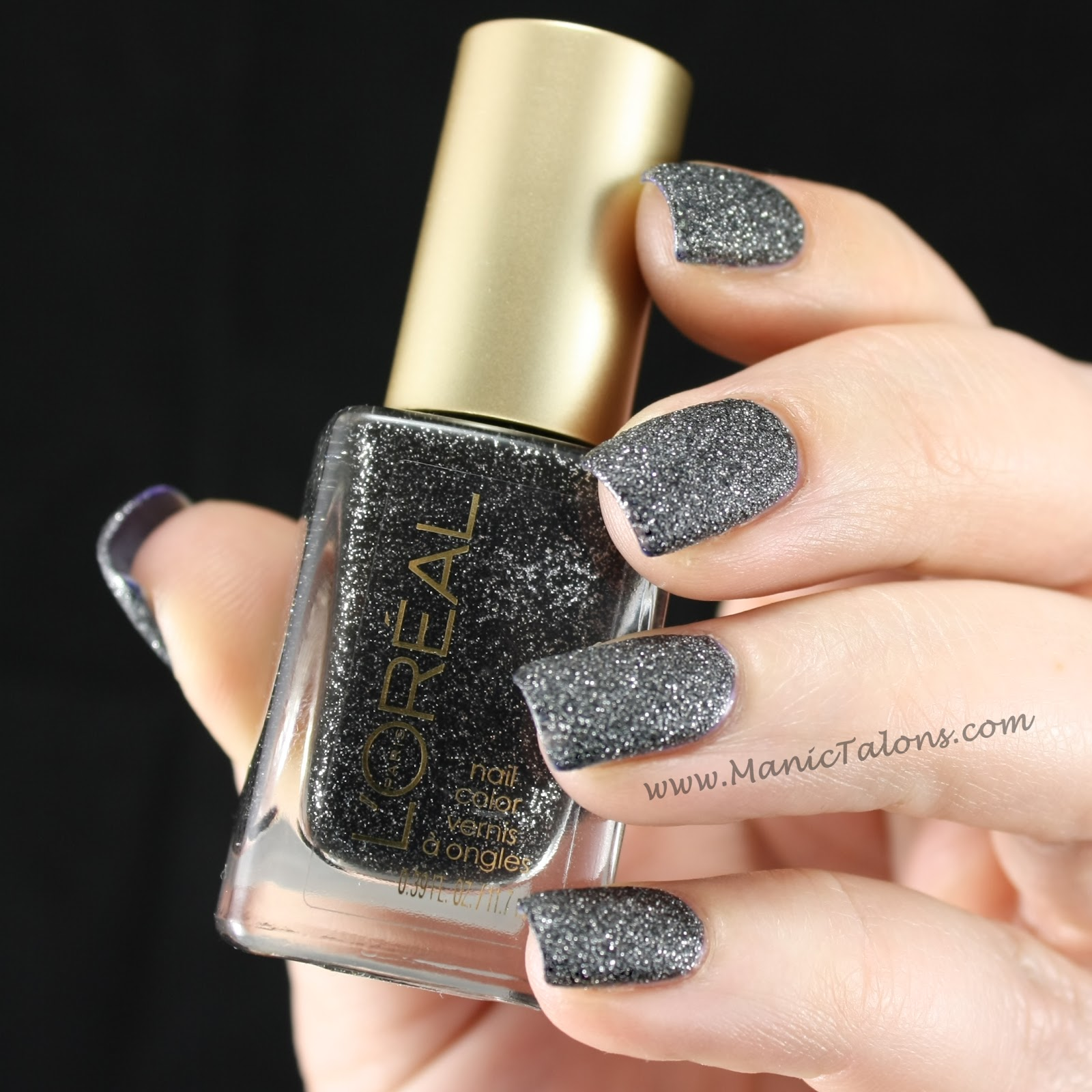 Manic Talons Nail Design: L\'Oreal Colour Riche Gold Dust: Rough ...
