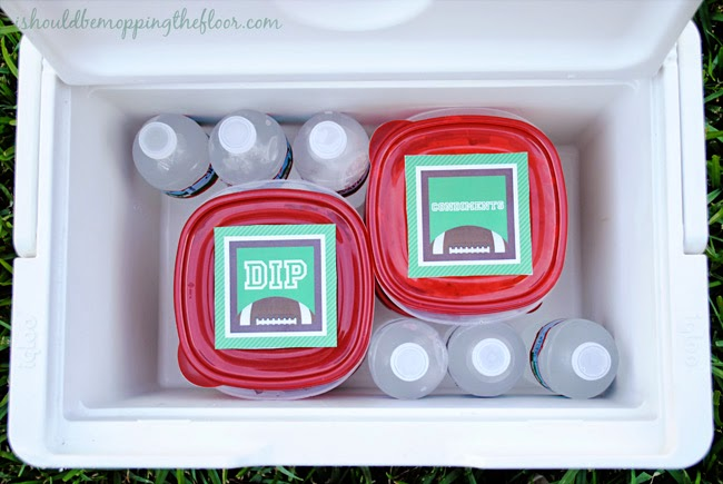 How to Tailgate with Ease | Free Football Printables | Food Ideas & More