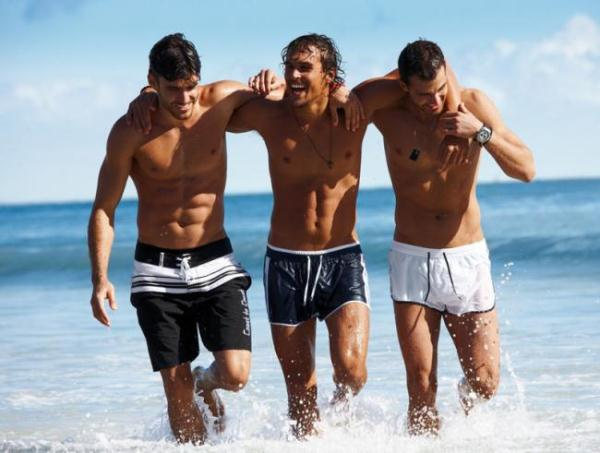 Men's Swimwear trends Summer 2012-2