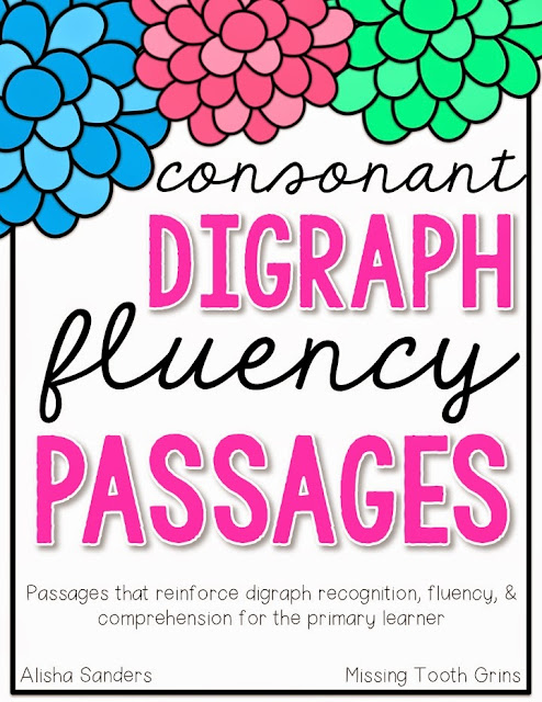 https://www.teacherspayteachers.com/Product/Consonant-Digraph-Fluency-Passages-1859143