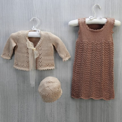 Cotton Soft Baby Jumper & Cardigan - Free Patterns