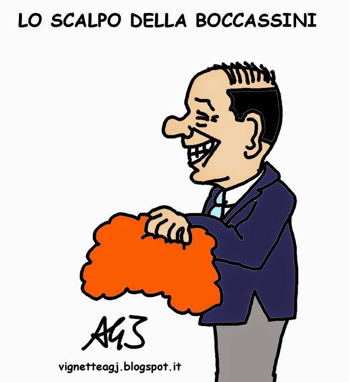 Berlusconi, Ruby, Boccassini, cassazione, satira, vignetta