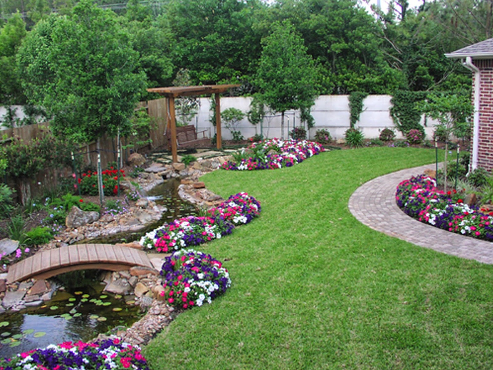 Simple Backyard Landscaping Deal Your Small Kris