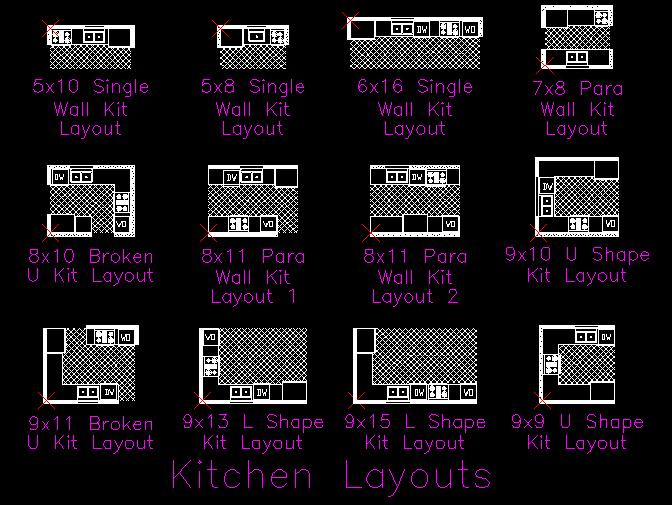 Gambar kerja dapur