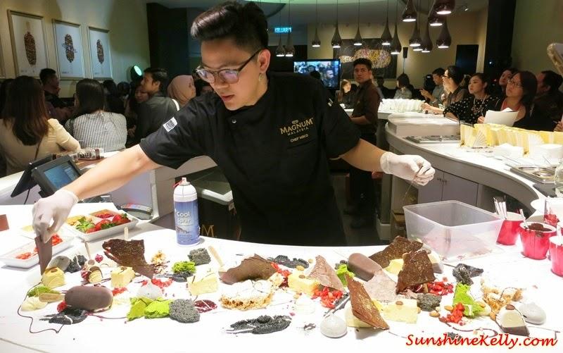Magnum Café Kuala Lumpur, Magnum Kuala Lumpur, Magnum Cafe, Make My Magnum, Magnum ice cream, Magnum dessert