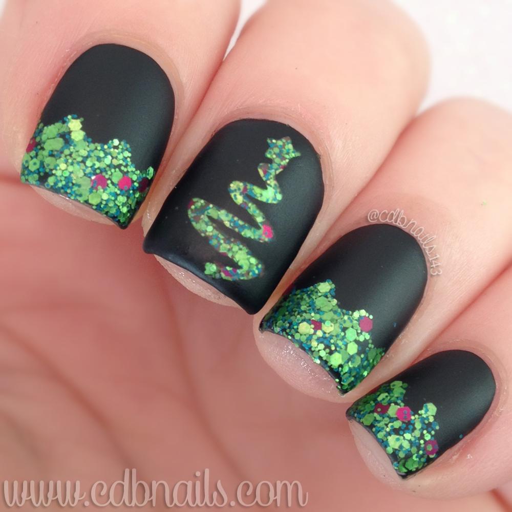 Cdbnails 40 Great Nail Art Ideas 12 Days Of Christmas Nail Art
