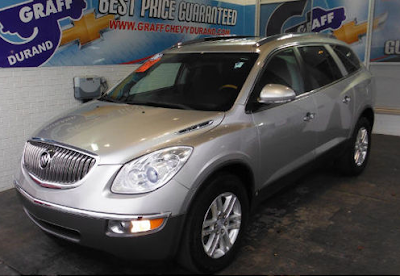 Used 2008 Buick Enclave CX for Sale Near Fenton, MI