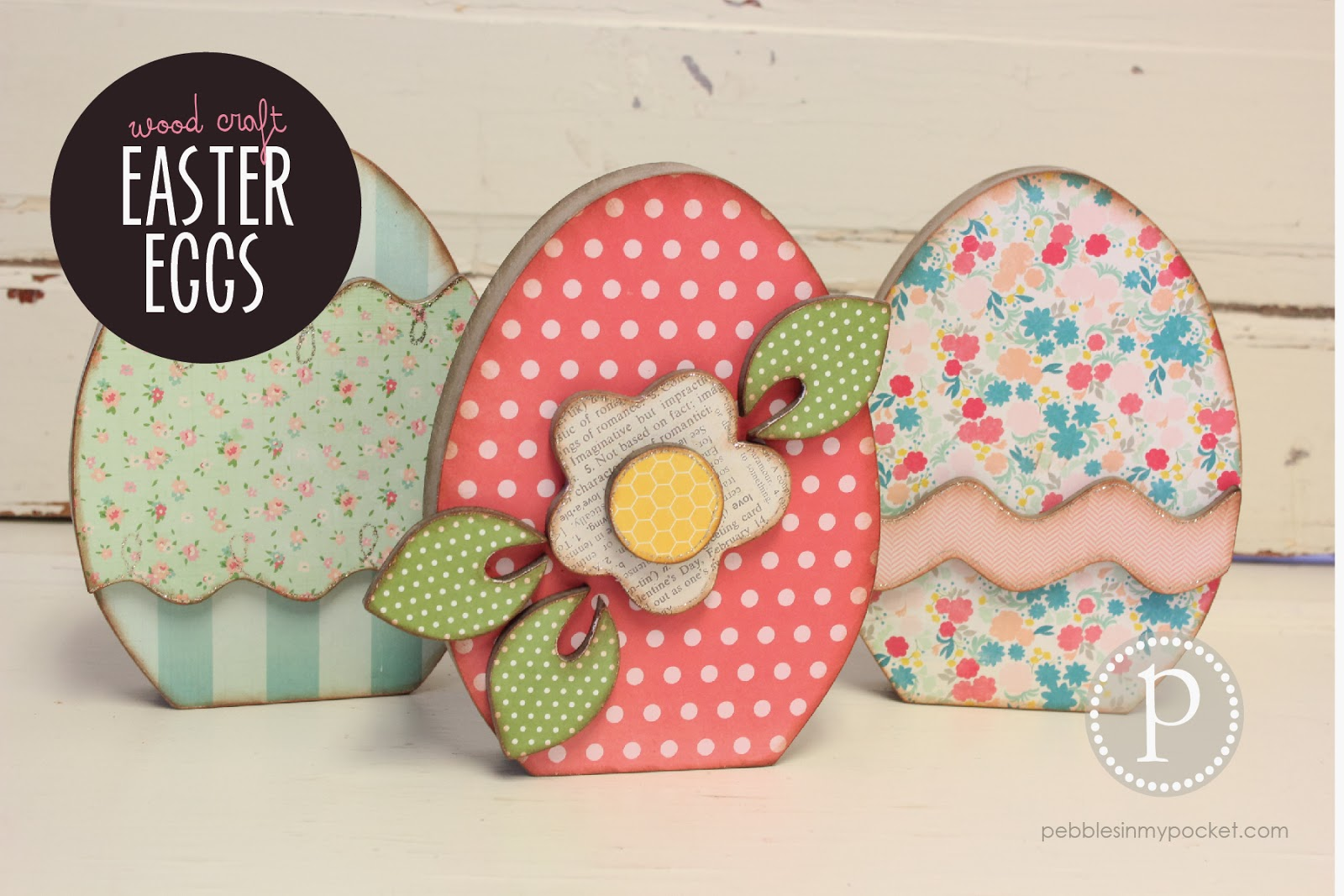 Unfinished wood craft pieces - Easter Spring Wood Craft Kits