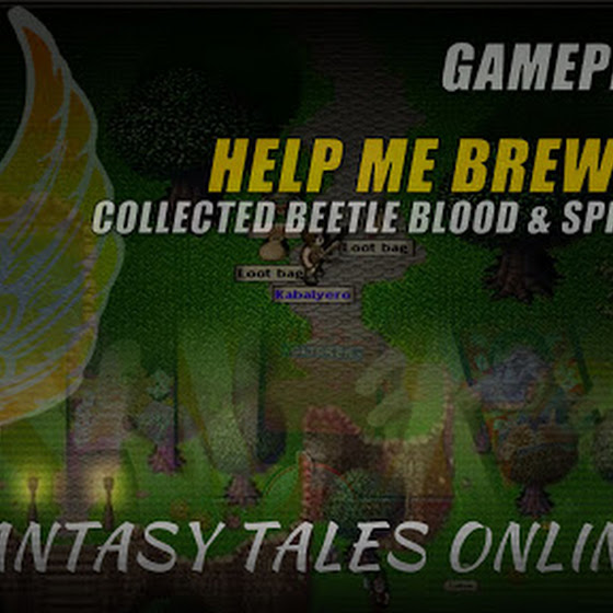 Fantasy Tales Online 🌟 Help Me Brew Quest • Collected Beetle Blood & Spider Venom