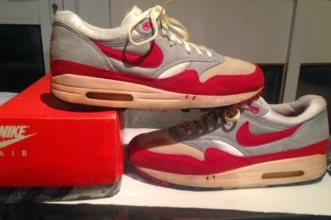 Here is a detailed look at a pair of Original 1987 Nike Air Max 1 Spotted  On Ebay HERE 4ead12734a