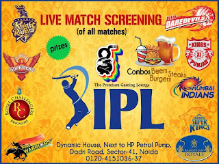 Live IPL Match Screening in Glued