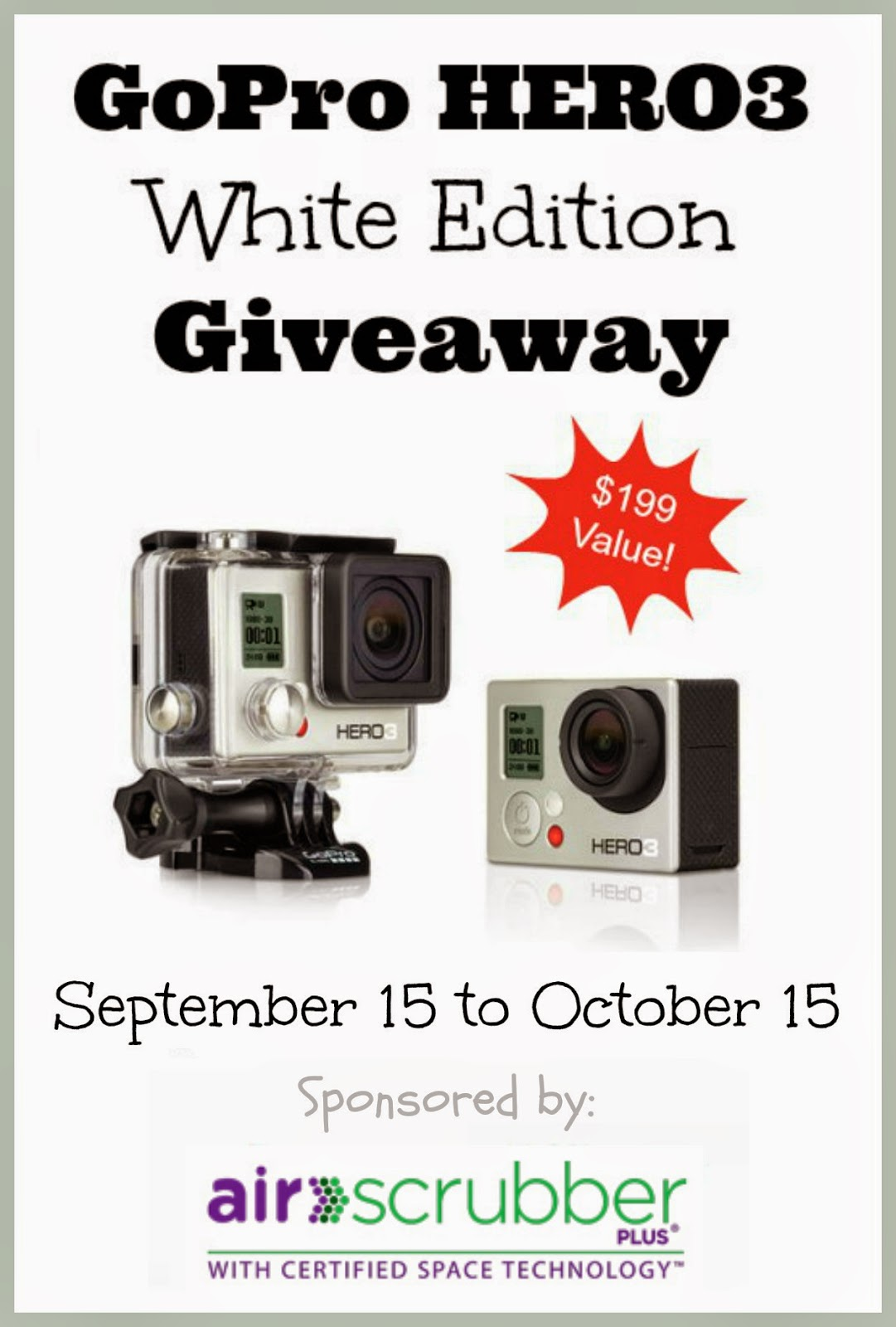 GoPro Hero3 Camera Giveaway