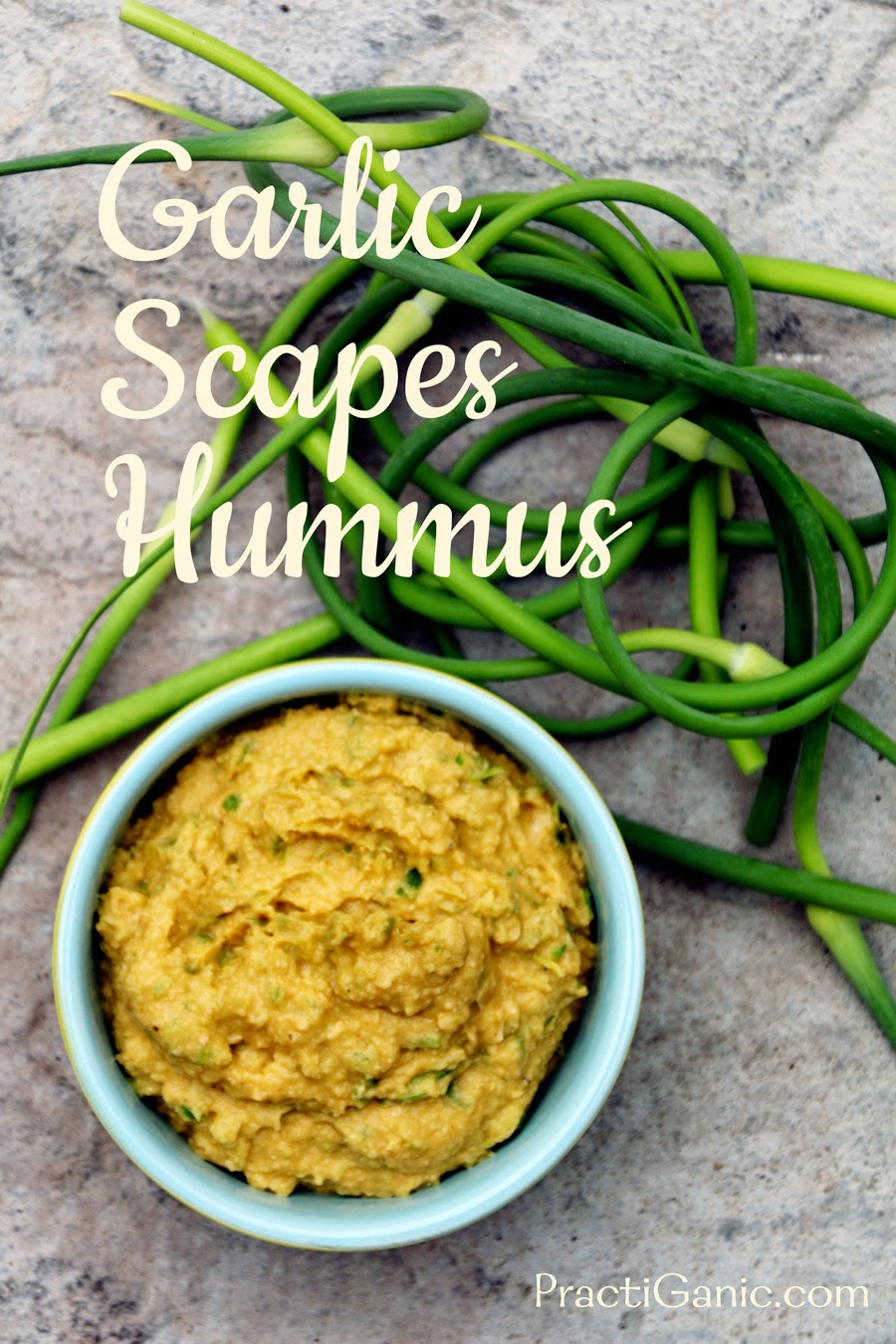 Garlic Scapes Hummus