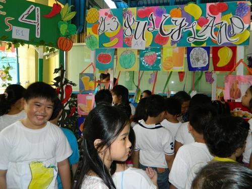 nutrition month, nutrition month activity, food decorations