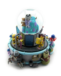 disney store monsters inc snowblobe