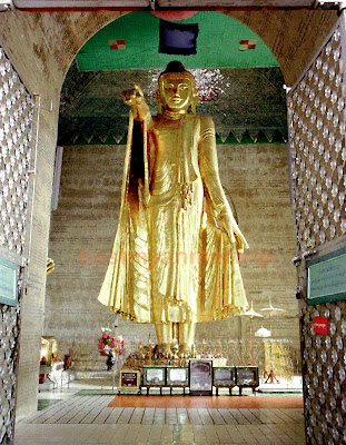 Buddha on Mandalay Hill
