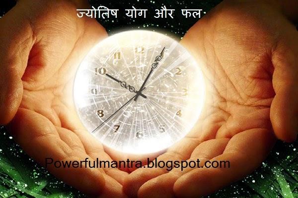 Astrology Yoga and Phal,  ज्योतिष योग और फल, Jyotish faladesh