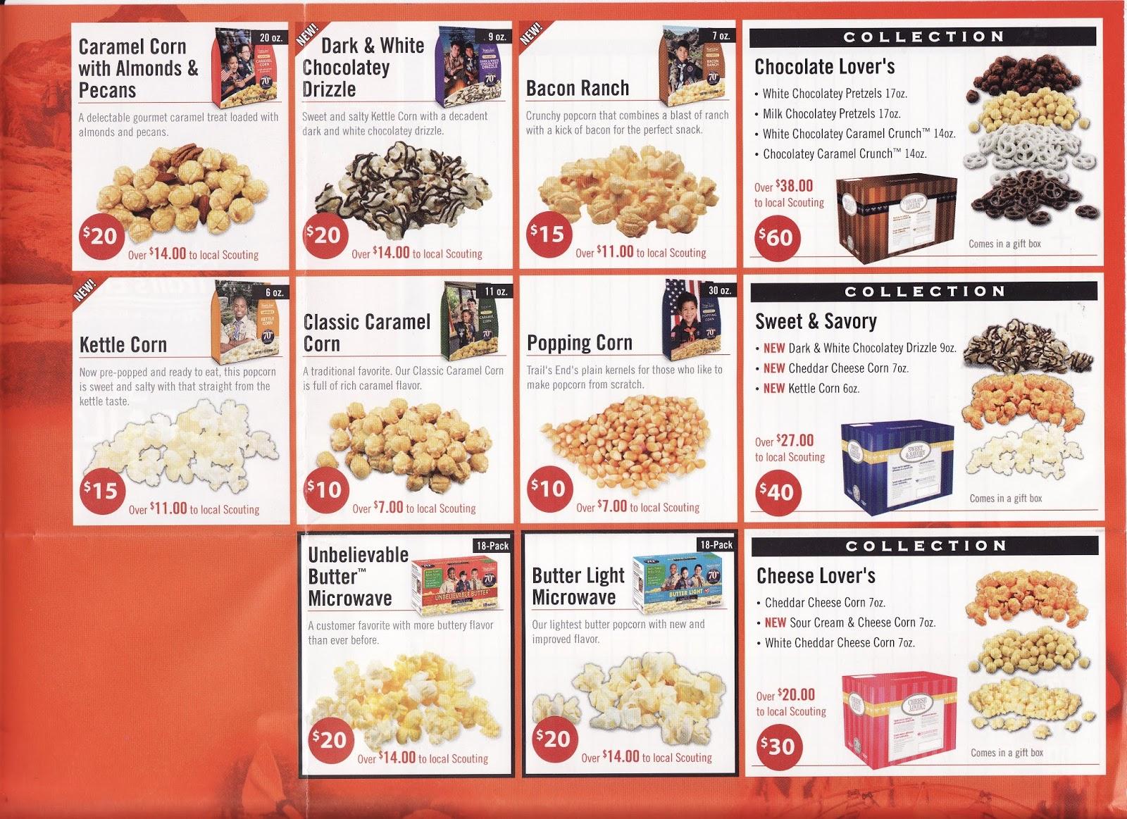 BSA Troop 1 Gaylord - Michigan: Popcorn Sales have begun!