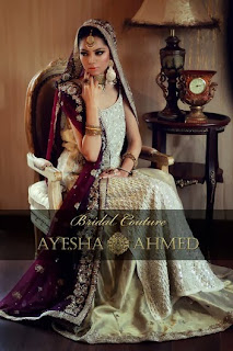 latest  Bridal Wear Dresses by Ayesha Ahmed