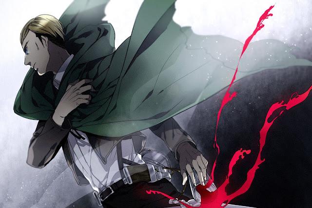 Irvin Smith Cape Attack on Titan Shingeki no Kyojin Anime HD Wallpaper Desktop PC Background 2119