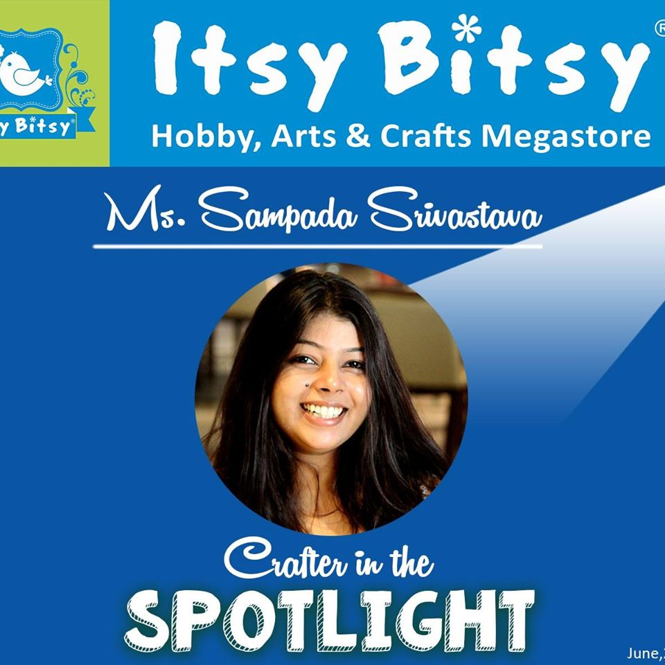 Awarded as Crafter in Spotlight by Itsy Bitsy