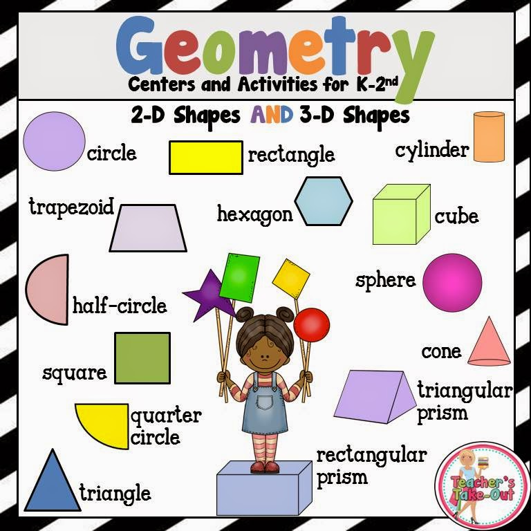 teacher s take out geometry posters freebie Triangular Prism Clip Art Ctangular Prism RX