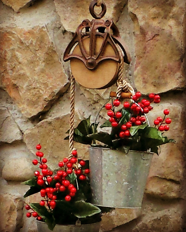 DIY Pulley Planter