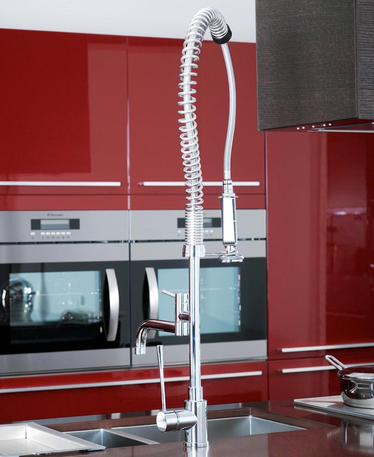 Noken taps for every type of kitchen porcelanosa - Porcelanosa cocinas catalogo ...