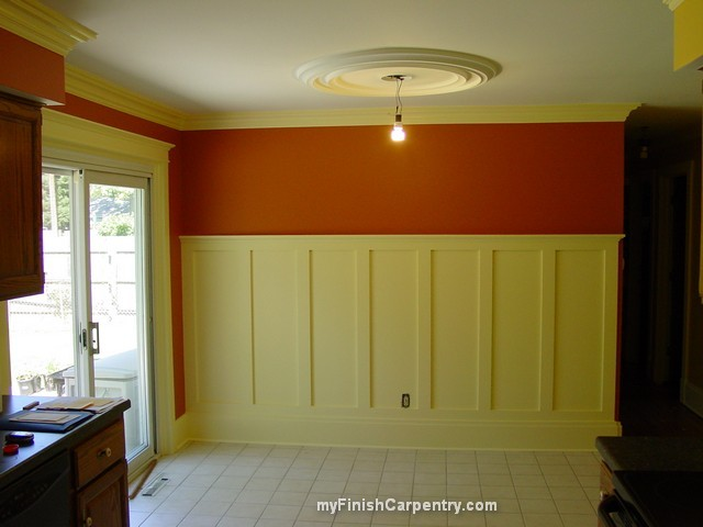 Pin by jessica barnard on diy home pinterest for Arts and crafts wainscoting