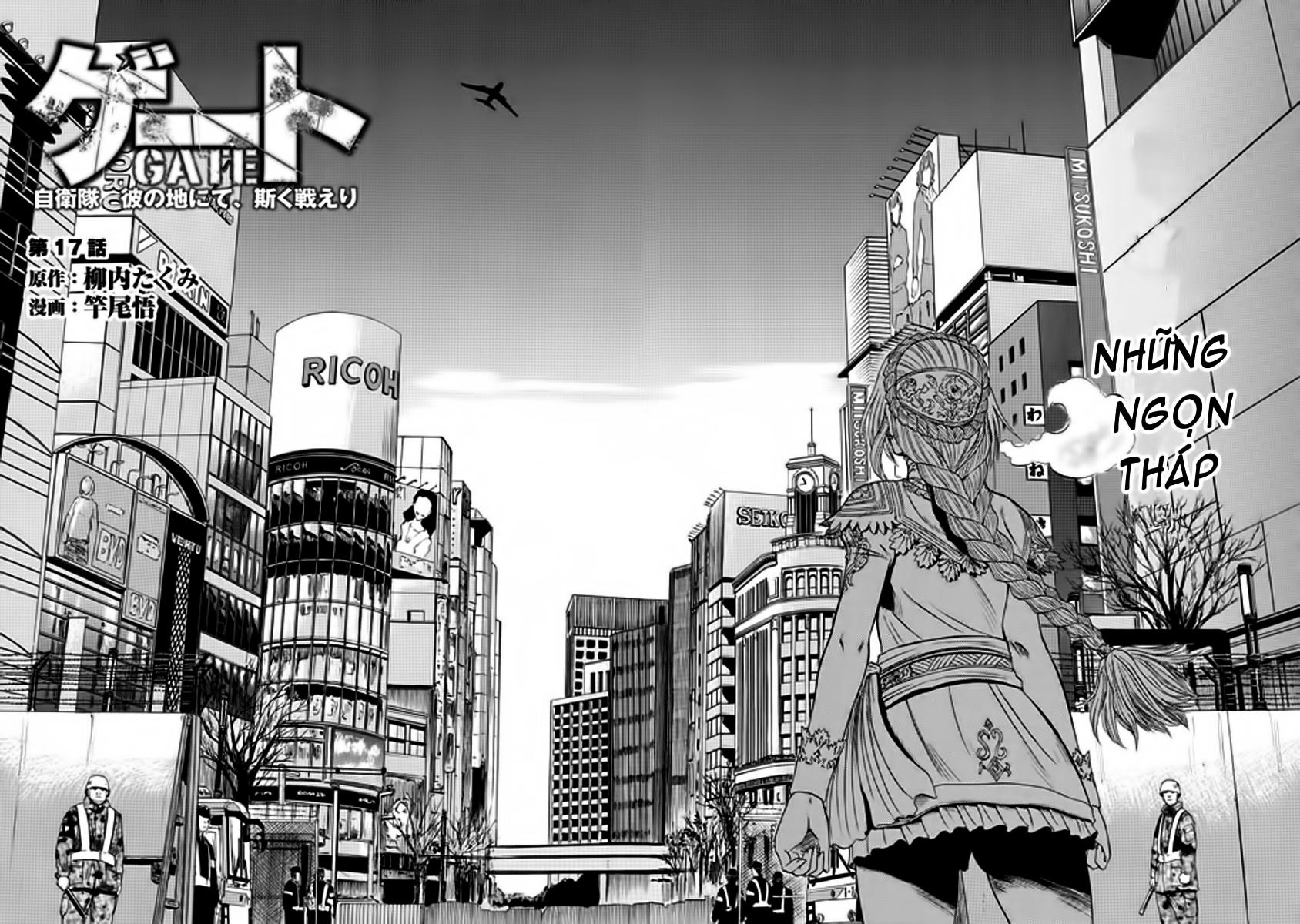 Gate – Jietai Kare no Chi nite, Kaku Tatakeri chap 17 Trang 2 - Mangak.info