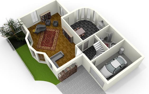 Planos de casas modelos y dise os de casas planos de for Programa para hacer muebles en 3d
