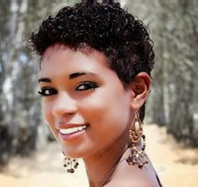cute black women curly short hairstyles for cute black women
