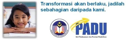 Permohonan Menjadi PADU : Unit Pelaksanaan dan Prestasi Pendidikan Merangkap Unit Penyampaian Pelan Pembangunan Pendidikan Malaysia (PPPM)